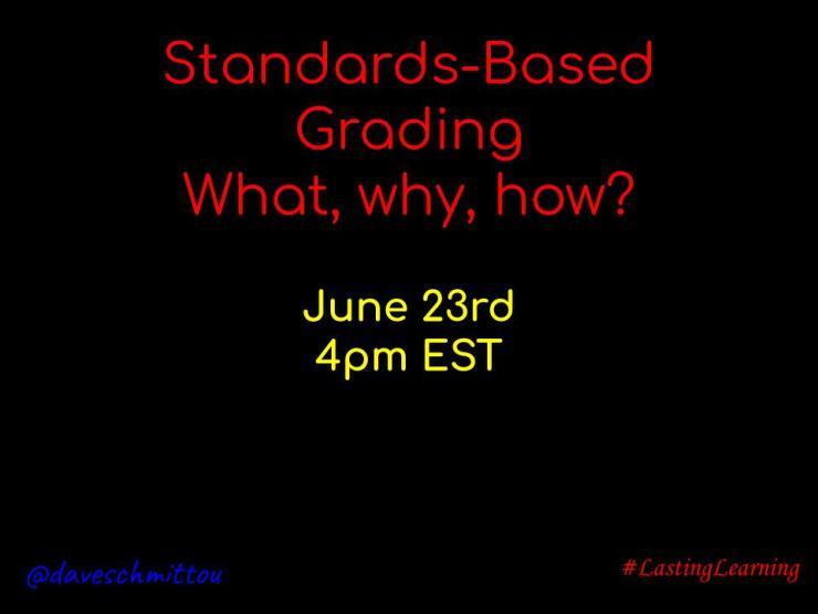 Webinar Standards Based Grading- 2020 (2)